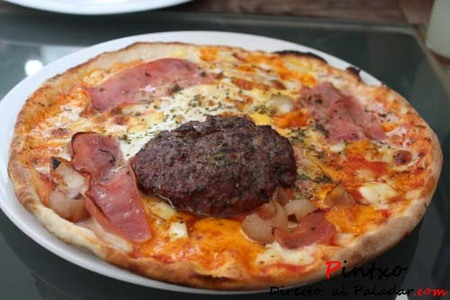 Pizza burguer