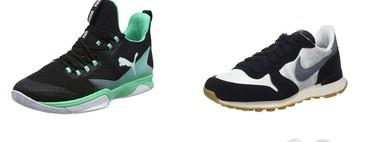 Ofertas en tallas sueltas de zapatillas Asics, Nike, Adidas o Puma disponibles en Amazon