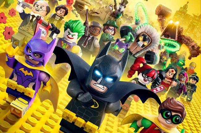Cartel Lego Batman La Pelicula
