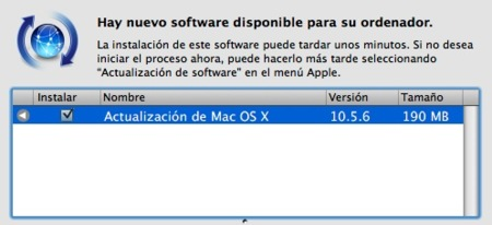 Mac OS X Leopard 10.5.6 ya disponible