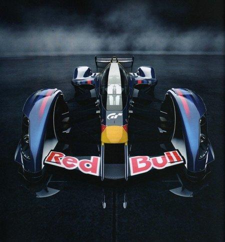 Red Bull X1 Prototype. Ejercicio de diseño de Adrian Newey