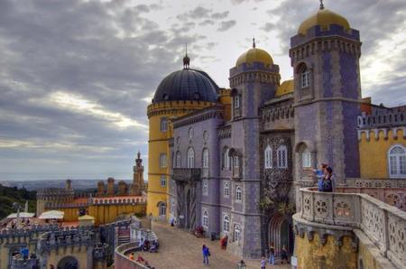 Portugal: El Palacio da Pena en Sintra
