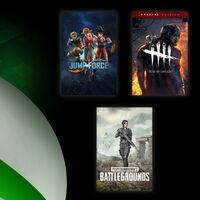 PUBG, Jump Force y Dead by Daylight están para jugar gratis en Xbox One con Xbox Live Gold