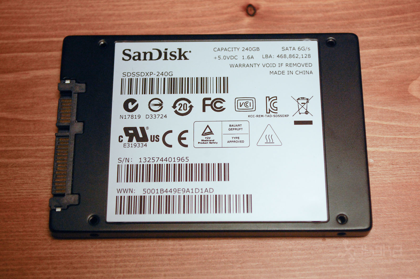 SanDisk Extreme II SSD