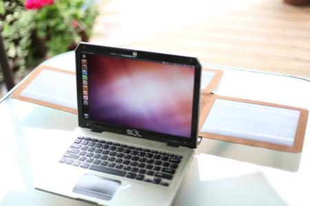 SOL, un portátil Ubuntu que se alimenta de la energía del Sol