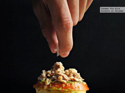 Menú semanal del 14 al 20 de septiembre. Cuarteto de hummus, falsa pizza con base de plátano, pastel holandés de manzana y más.