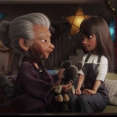 El emotivo spot de Navidad de Disney habla de tradiciones y amor a los abuelos
