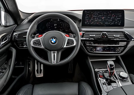 Bmw M5 Competition 2021 38