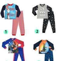 4 Pijamas para niños rebajados hasta un 80%  por menos de 7 euros