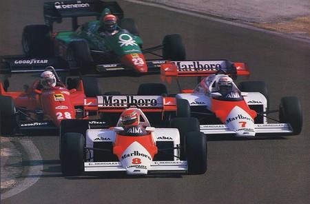 Prost Lauda F1 Mclaren 1984