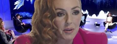"""Rocío Carrasco interrumpe la emisión de la docuserie para conceder una entrevista en directo el próximo miércoles: """"Me gustaría estar allí en el plató"""""""