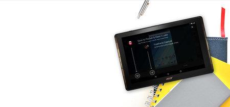 Acer Iconia Tab 10: pantalla Quantum-Dot y cuatro altavoces para la nueva tableta de la marca