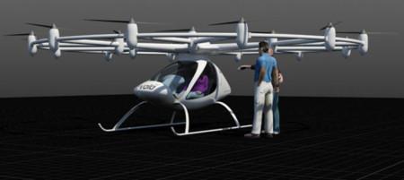 El helicóptero de los 18 motores