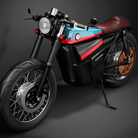 Eléctrica, muy vintage y espectacular: así de bien luce la Model Electric Cafe Racer 1
