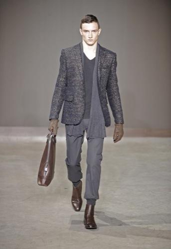 Louis Vuitton, Otoño-Invierno 2010/2011 en la Semana de la Moda de París. Botín