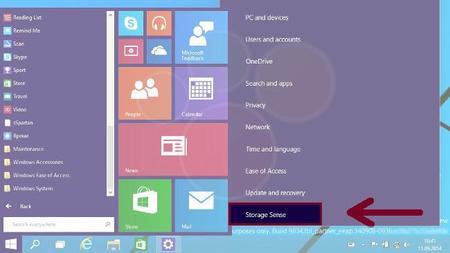 Windows 9 también podría contar con su propio sensor de almacenamiento al estilo Windows Phone