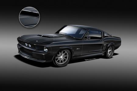 El Mustang GT500CR 1967 es el primer muscle car con carrocería completa de fibra de carbono