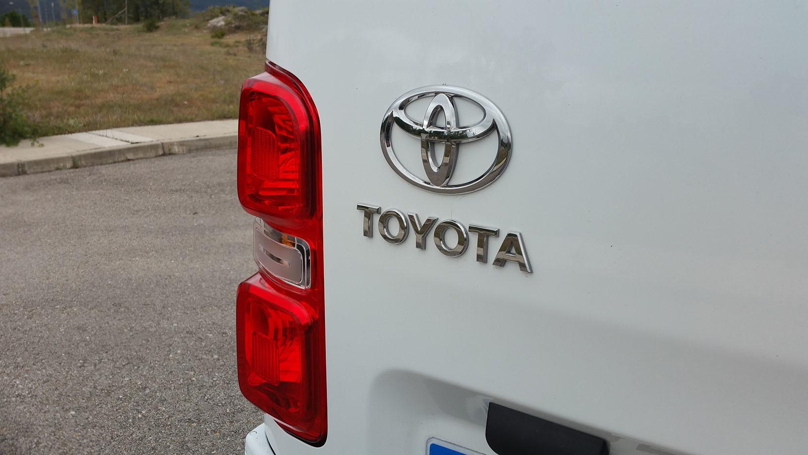 Toyota PROACE furgón - Detalles