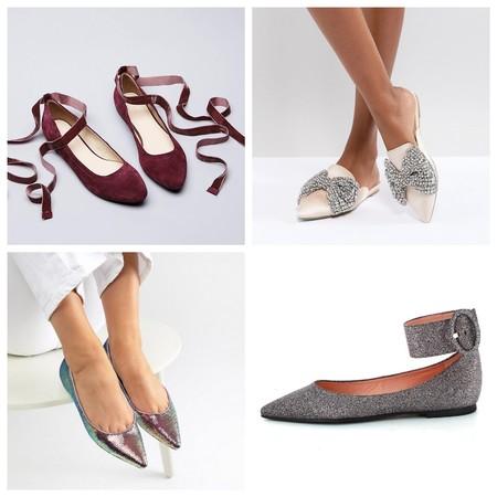 Zapatos Planos Fiesta