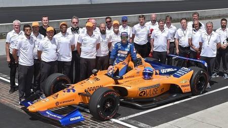 Alonso Mclaren Indycar 2019
