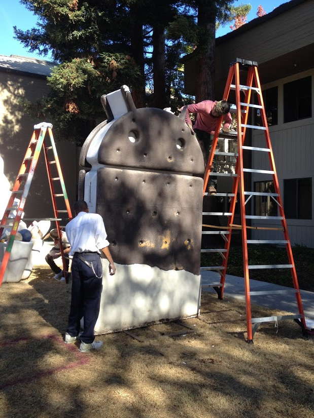 Restauración estatuas Android