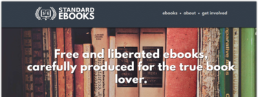 In Standard Ebooks you can download free and public domain books in a beautiful format
