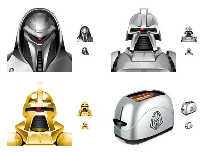 Geniales iconos de BSG para fanáticos de la serie