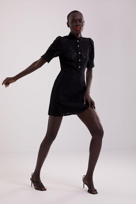 Vestido Negro Zara 6