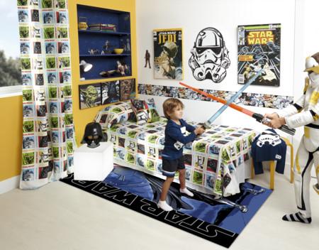 Una habitación Star Wars: es para los peques pero tú no querrás salir
