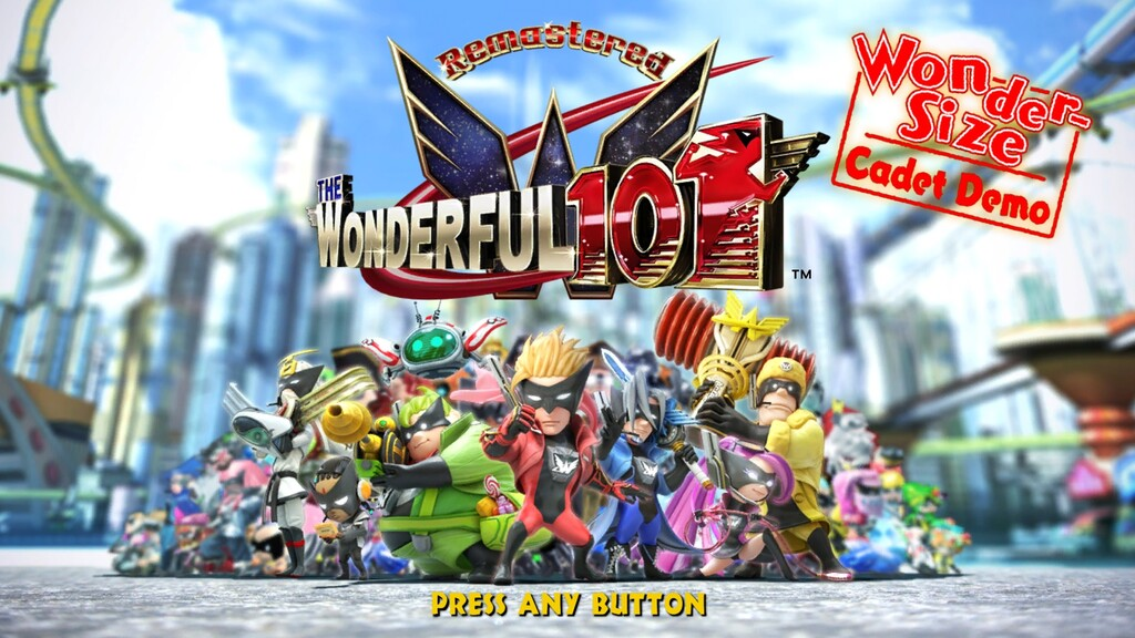 Ya puedes descargar gratis una demo de The Wonderful 101 Remastered con Bayonetta de invitada especial
