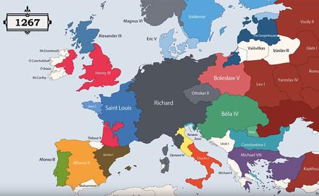 Mapa Europa Del Este.Todos Los Gobernantes De La Historia De Europa Resumidos En
