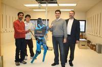 MABEL, el robot bípedo más rápido del mundo