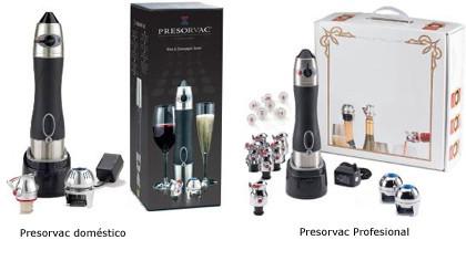 Presorvac, ideal para preservar el vino sobrante