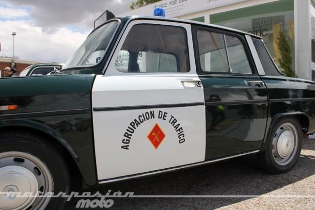 Antiguo coche de GC Tráfico