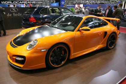 TechArt GTstreet Porsche 911 Turbo, las imágenes en vivo