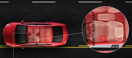GM presenta los avisos por vibración de su sistema Safety Alert Seat