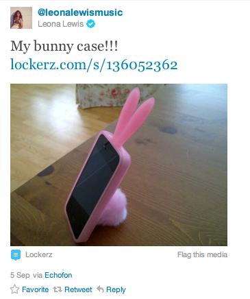 Twitter Leona Lewis
