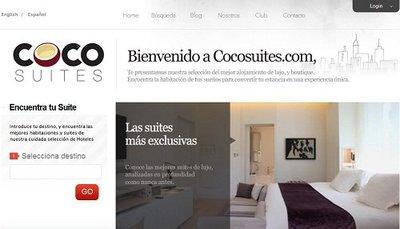 CocoSuites, comunidad de viajeros que buscan hoteles de lujo