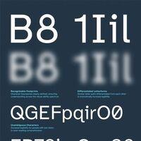 Esta tipografía gratuita ha sido creada por el Braille Institute para ayudar a las personas que tienen problemas de visión
