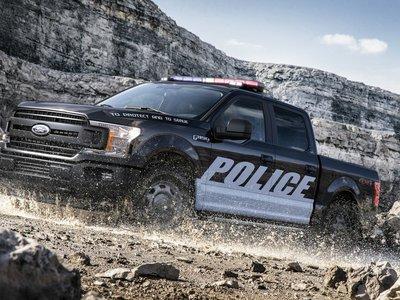 Ford desvela el imponente F-150, vestido de nuevo con el uniforme policial