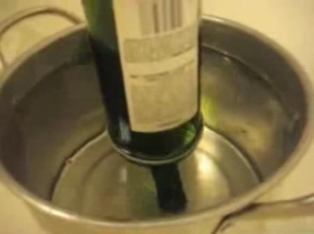 [Vídeo] Experimento casero: cómo cortar cristal con un hilo