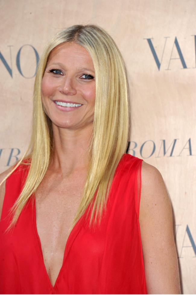 Gwyneth Paltrow, la mujer de rojo (más sexy) de Valentino