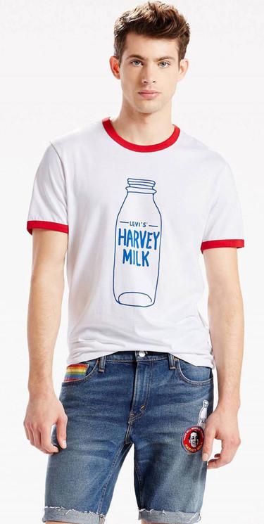 Levi's se apunta al Orgullo Gay con una colección conjunta con la Fundación Harvey Milk