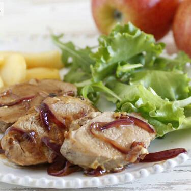 Receta de solomillo de cerdo con mostaza y sidra, una combinación de sabores perfecta