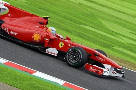 Gran Premio de Japón de Fórmula 1. Fernando Alonso, tercero, minimiza daños