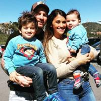 De los primeros pasos de Mateo Messi a los posados de los Fábregas