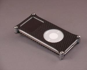 Funda de fibra de carbono para el iPod nano