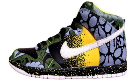 "Las zapatillas Nike Dunk High ""Serpent II"" no son para tímidos"