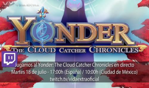 Jugamos en directo a Yonder: The Cloud Catcher Chronicles a las 17h (las 10h en Ciudad de México)  [Finalizado]