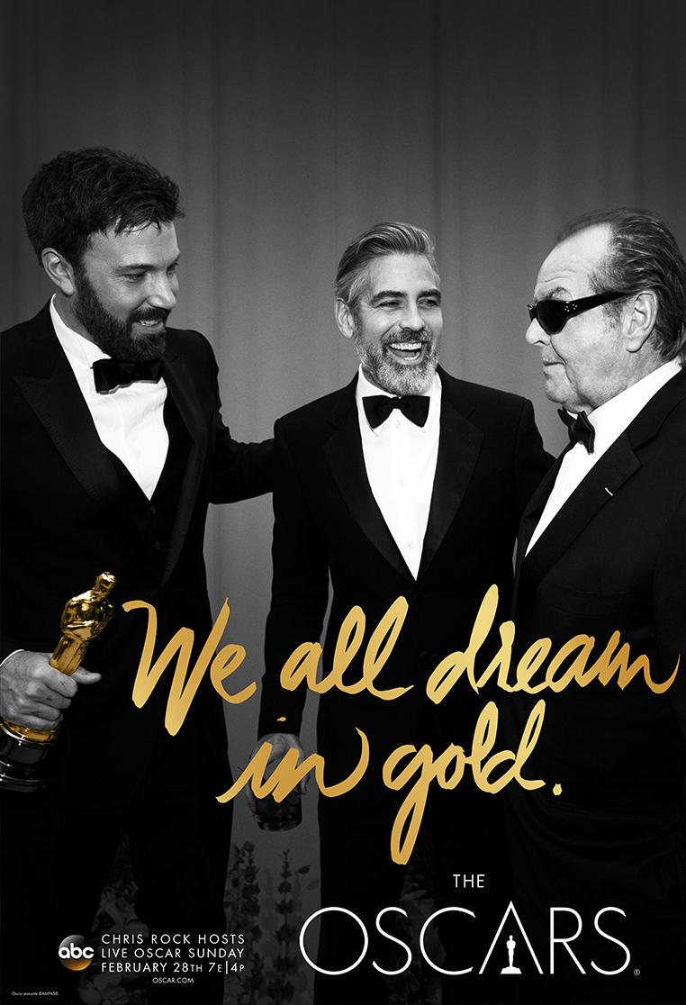 Oscars 2016, carteles oficiales